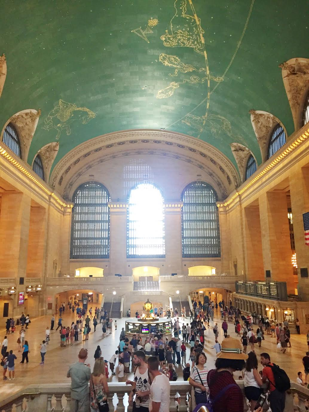 Things to see in New York City - grand central