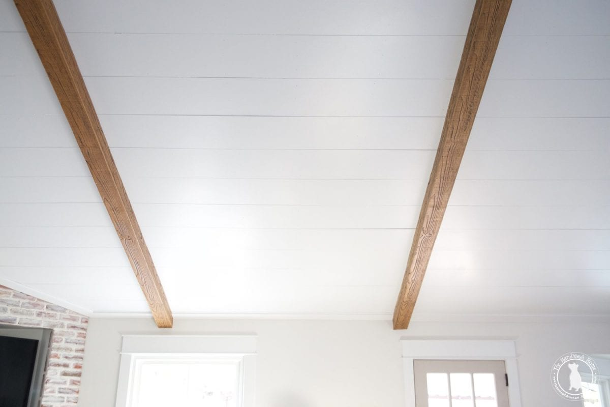 how to shiplap your ceilings - ceilings