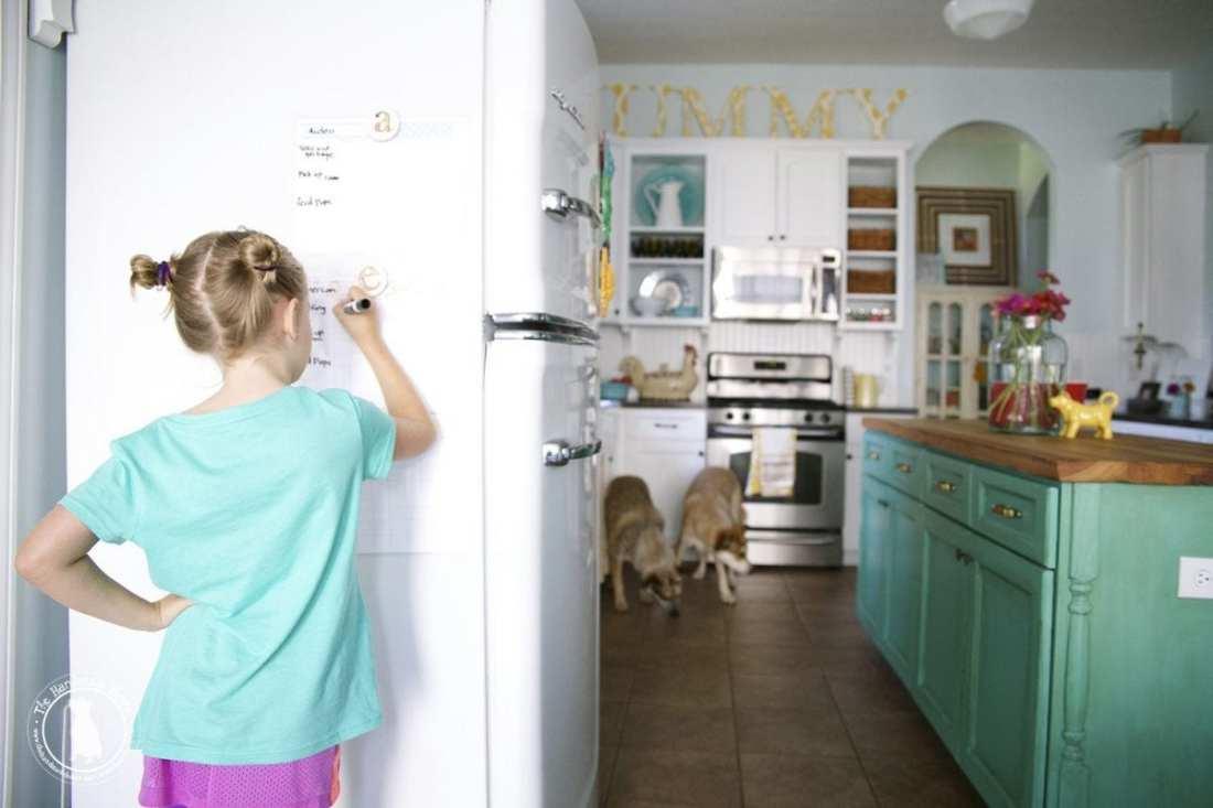 free planner - kids chore chart