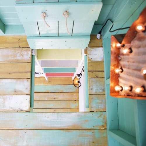 handmade hideaway 2.0 – adding the screens & a trap door