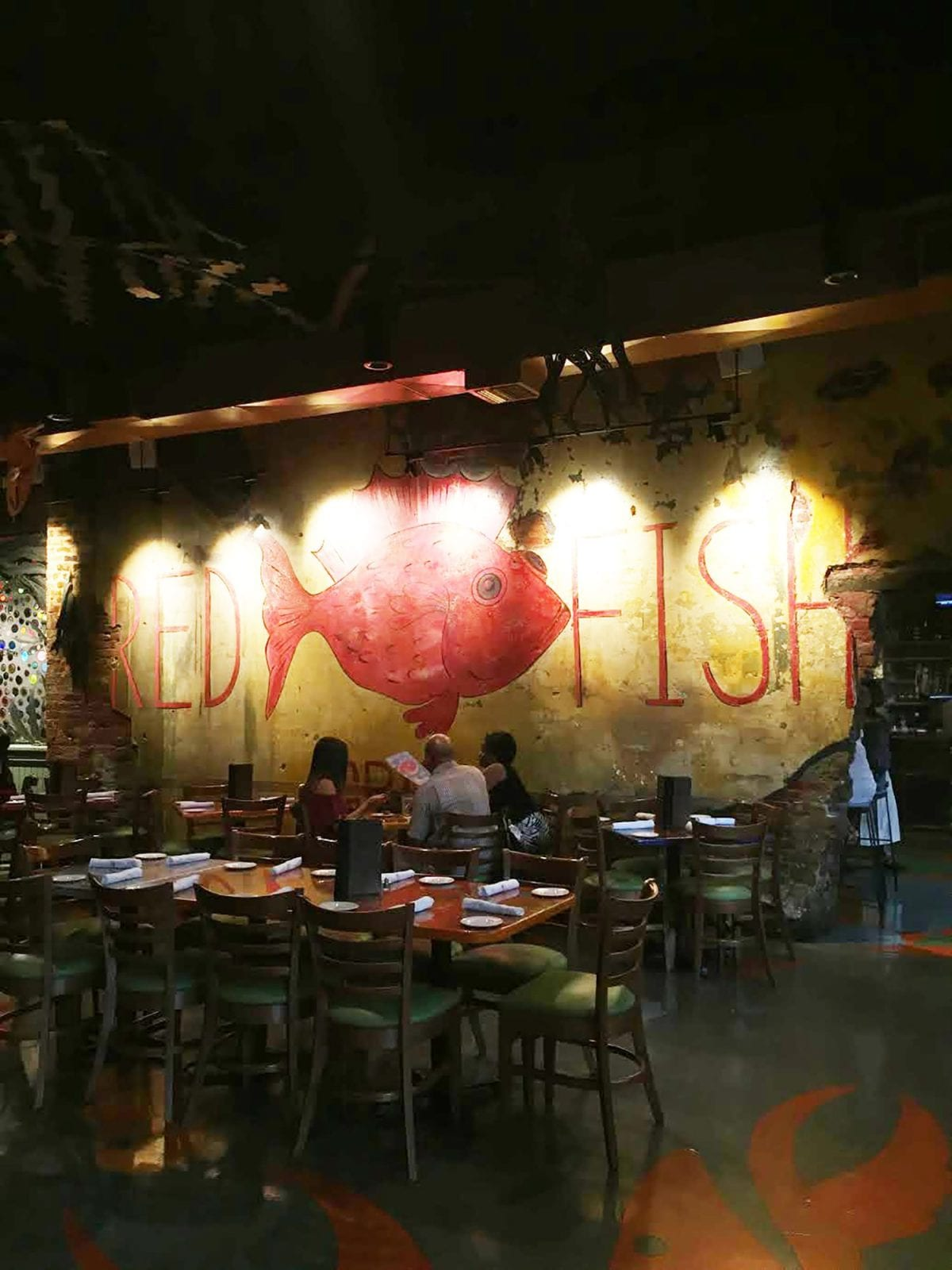 Where to eat in New Orleans - Red Fish Grill