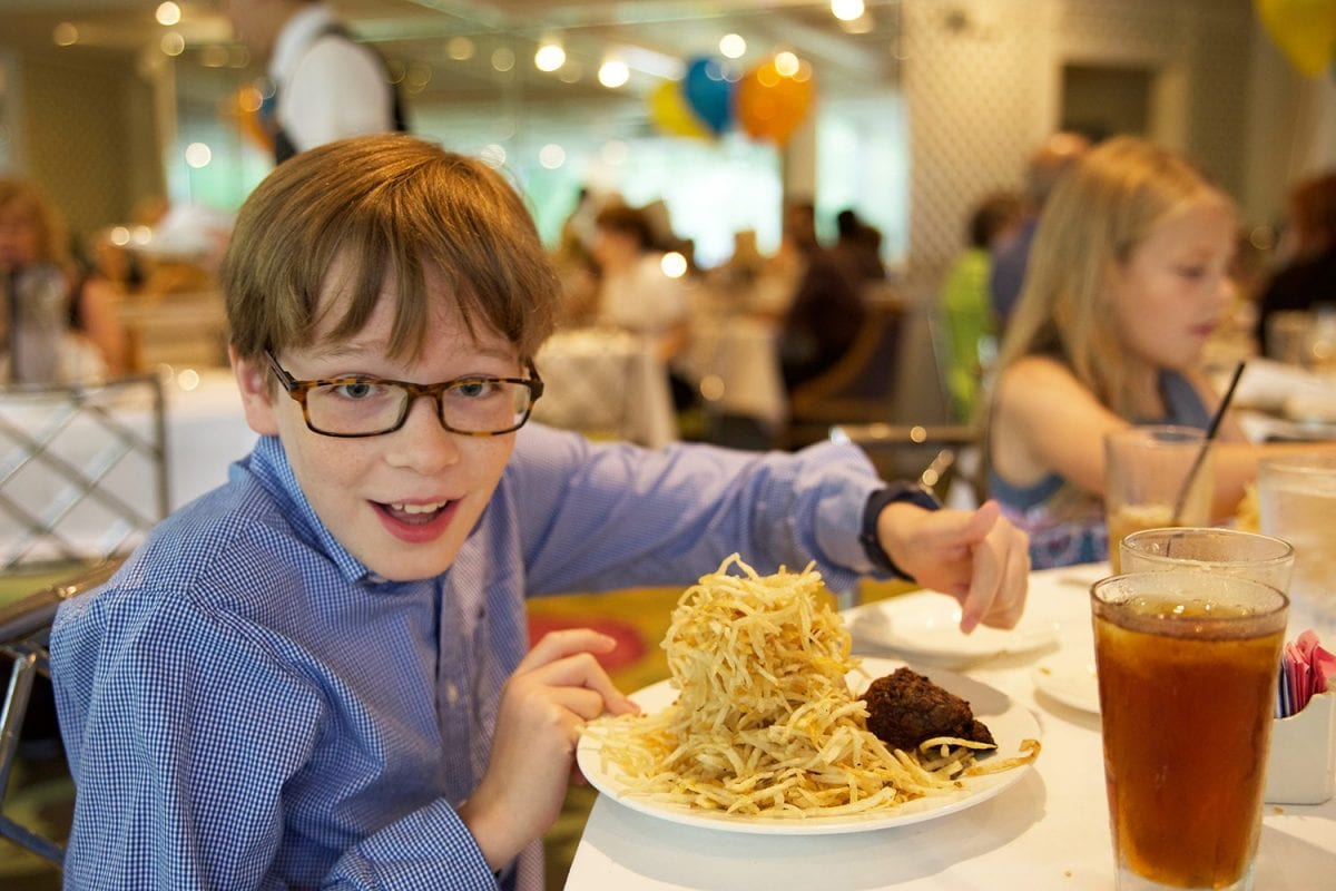 Places to eat in New Orleans - kids