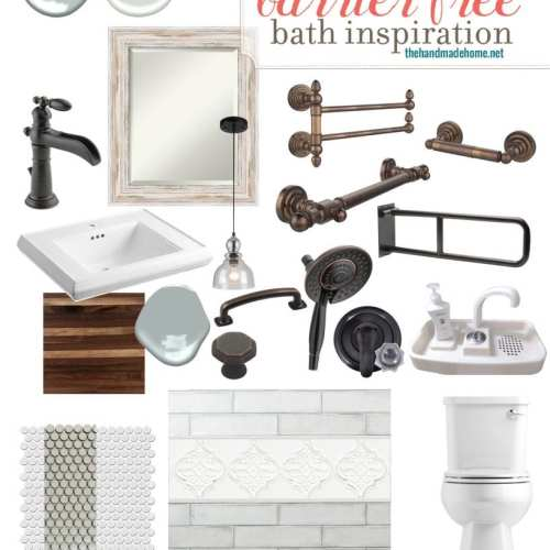 barrier free bath inspiration