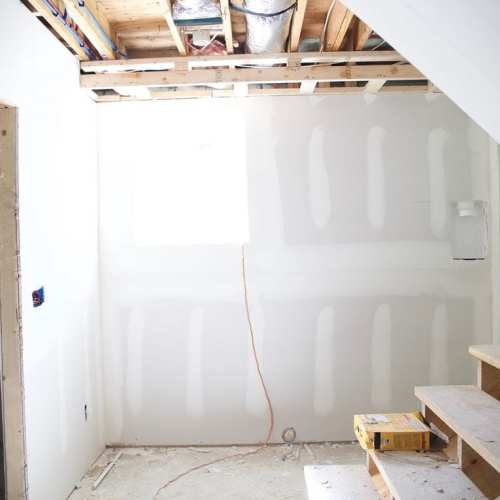 the basement and drywall and phases to infinity