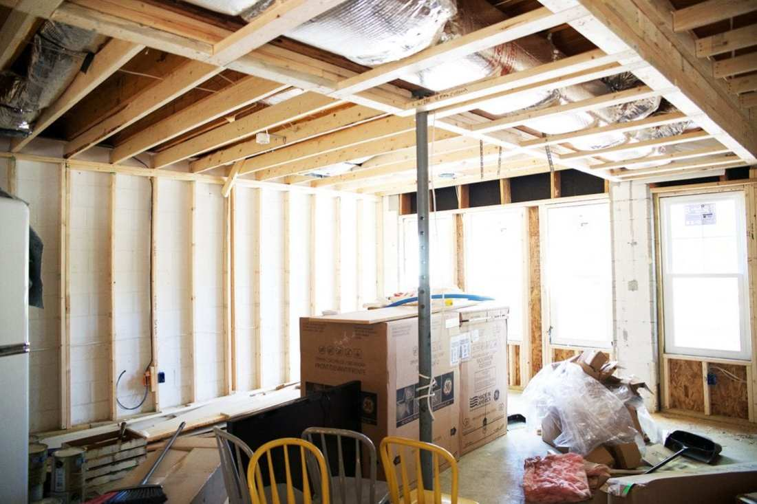 how to use spray insulation - basement