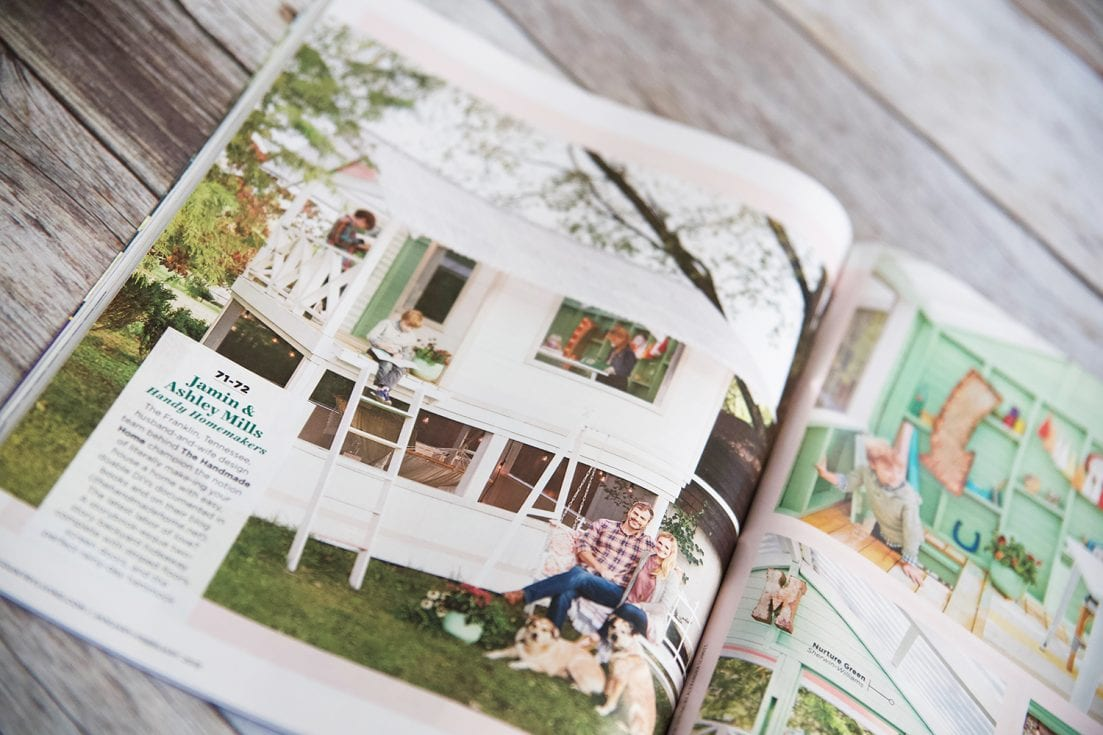 country living's creativity issue - The Handmade Home