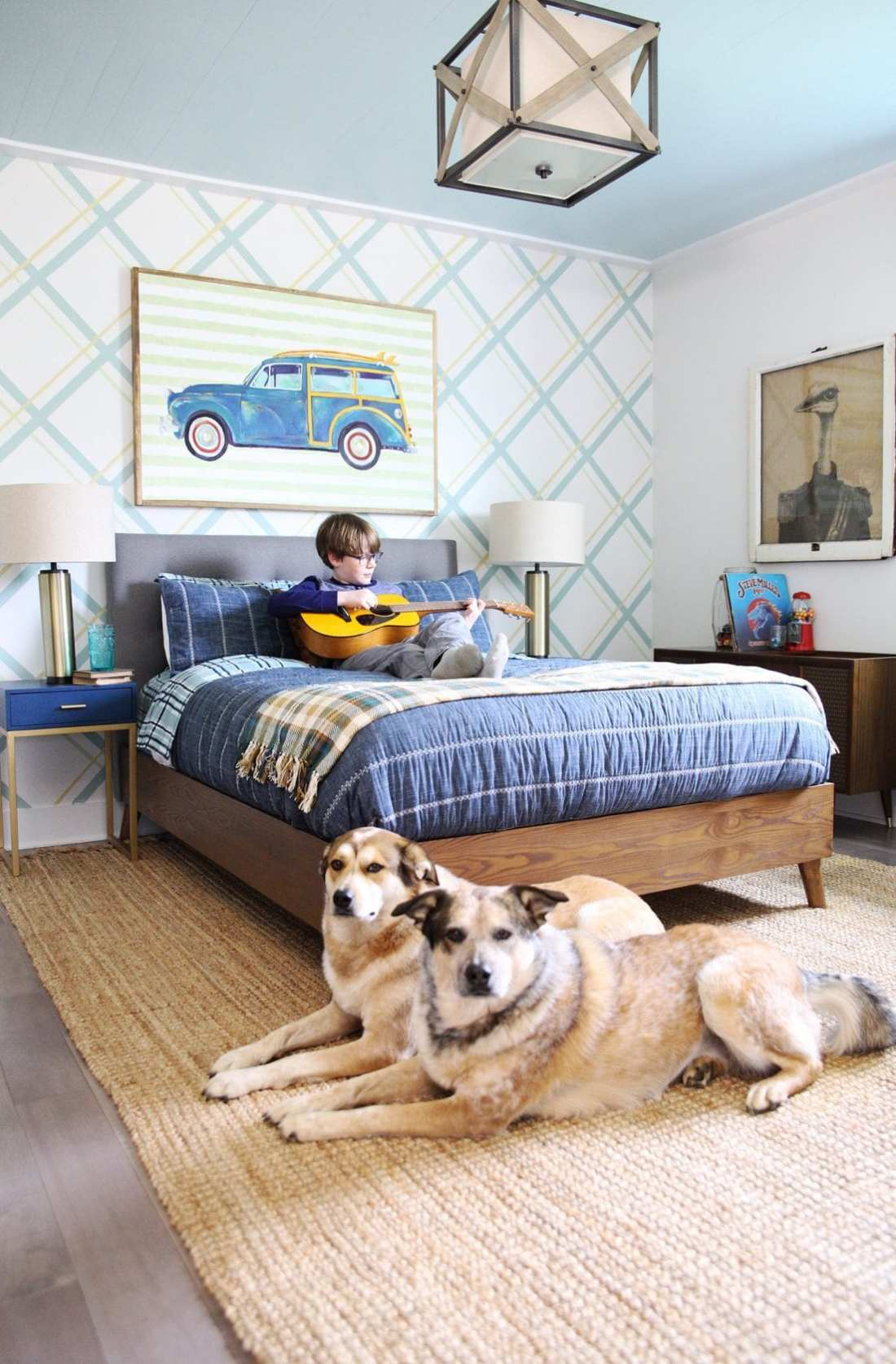 teen boy bedroom design