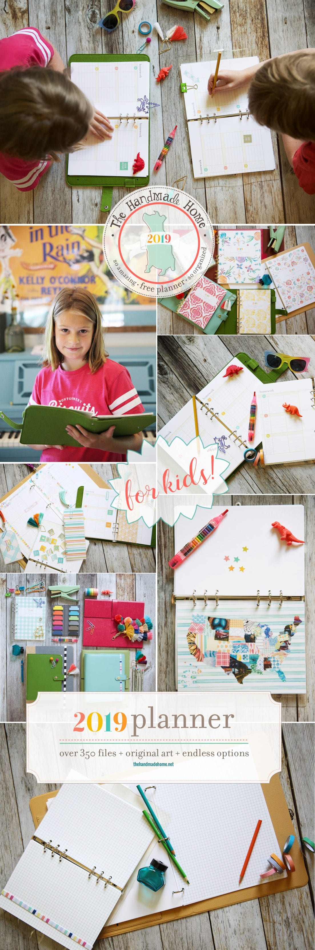 kids free planner