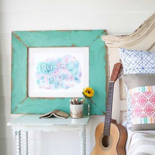 free wall art – no grit no pearl