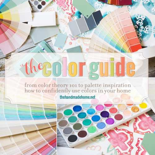 how to use color in your home {the color guide}
