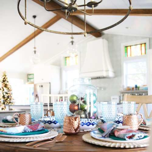 tips and tricks for an easy holiday tablescape