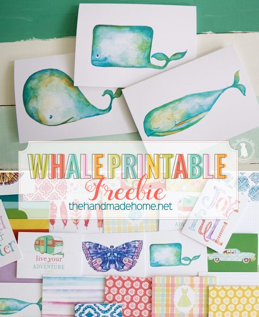 graphic about Printable Freebie named whale of a story stationery freebie - The Selfmade Property