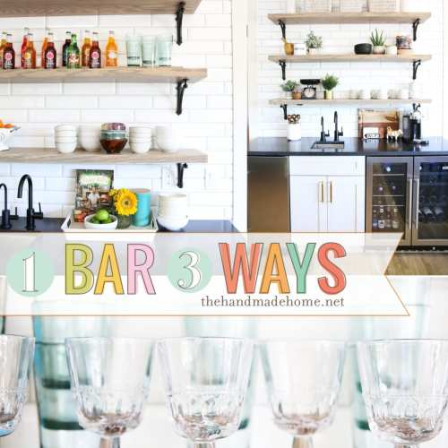 1 bar 3 ways