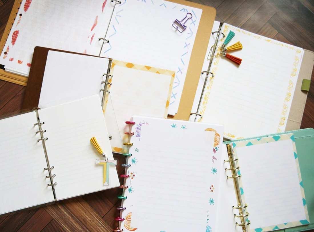 planner journal