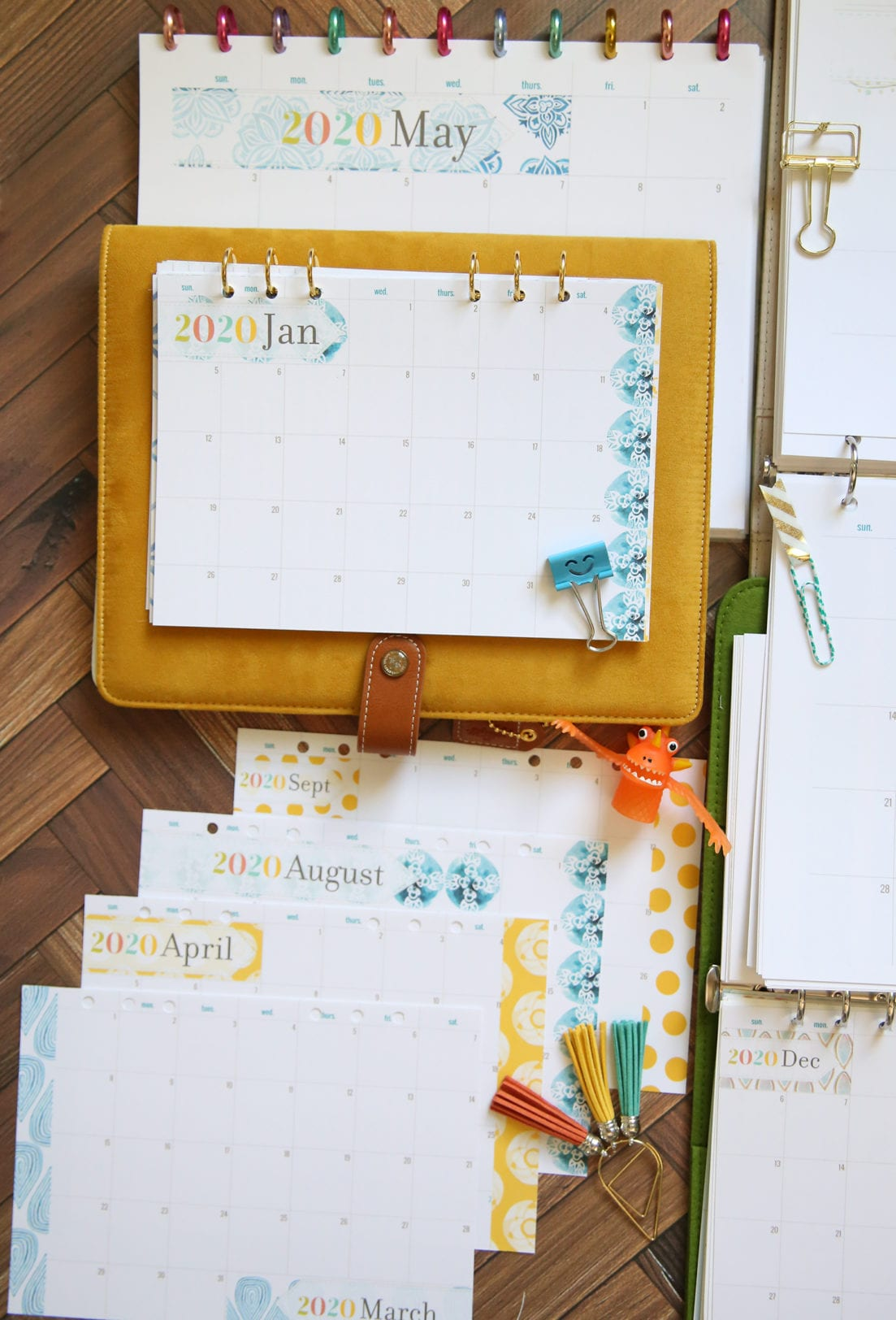 planner month pages