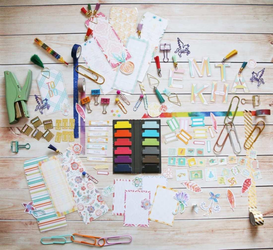 free planner accessories