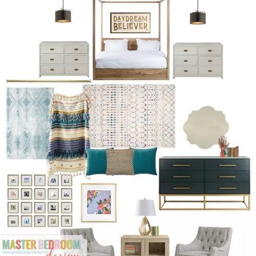 sneak peek: master bedroom design