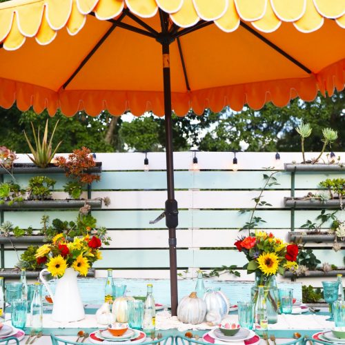 cheater's guide to an easy fall tablescape