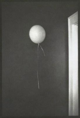 "Rebecca Foley, Balloon, Argyrotype, 6""x 4"" http://www.rebecca-foley.com"