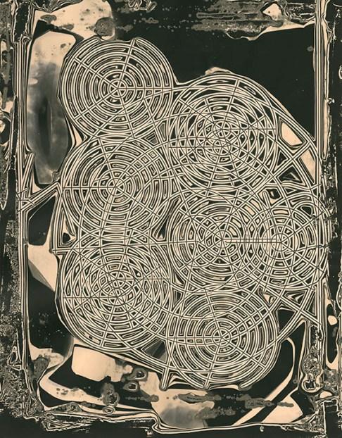 Heather Oelklaus (Colorado Springs, CO) New Orleans Silver gelatin print (chemigram)
