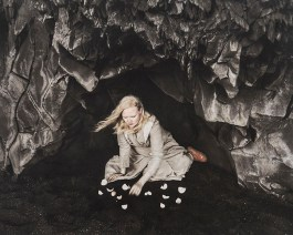 Emma Powell (Colorado Springs, CO) & Kirsten Hoving (Middlebury, VT) Divination Pigment over palladium print