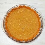 three-step super easy custard pie