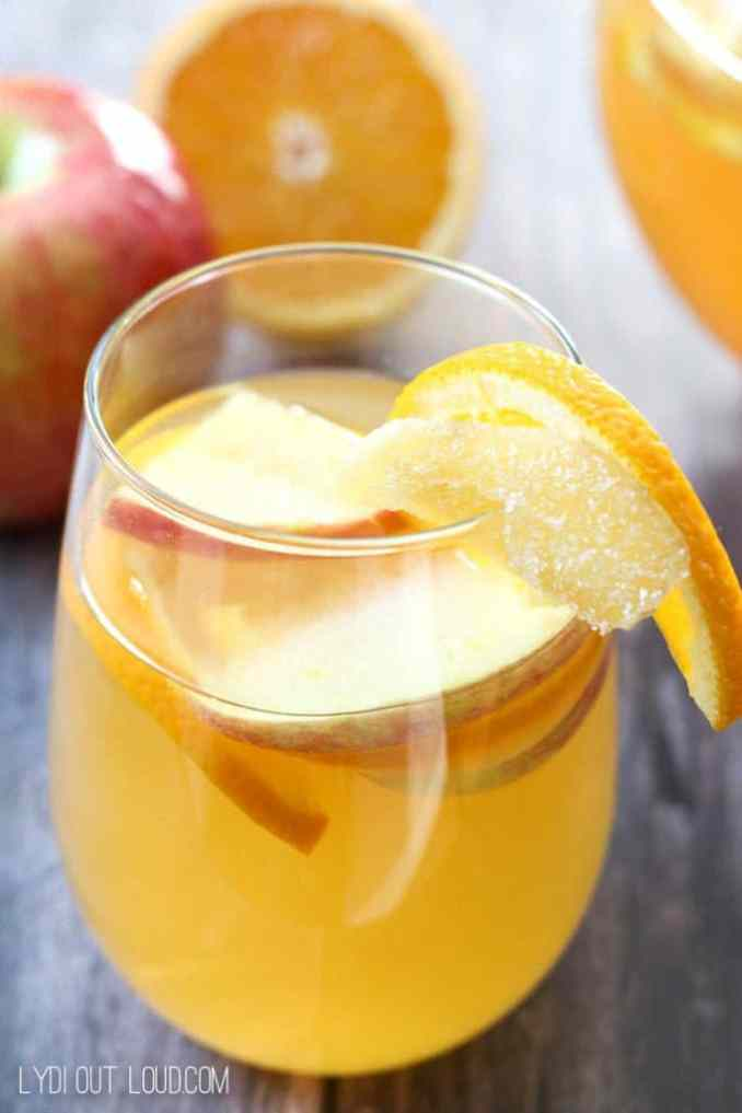 Orange Ginger Sangria