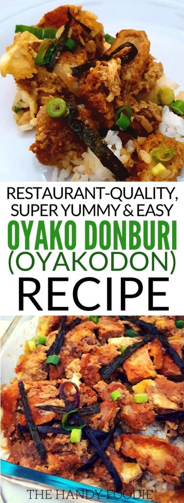 oyako donburi recipe