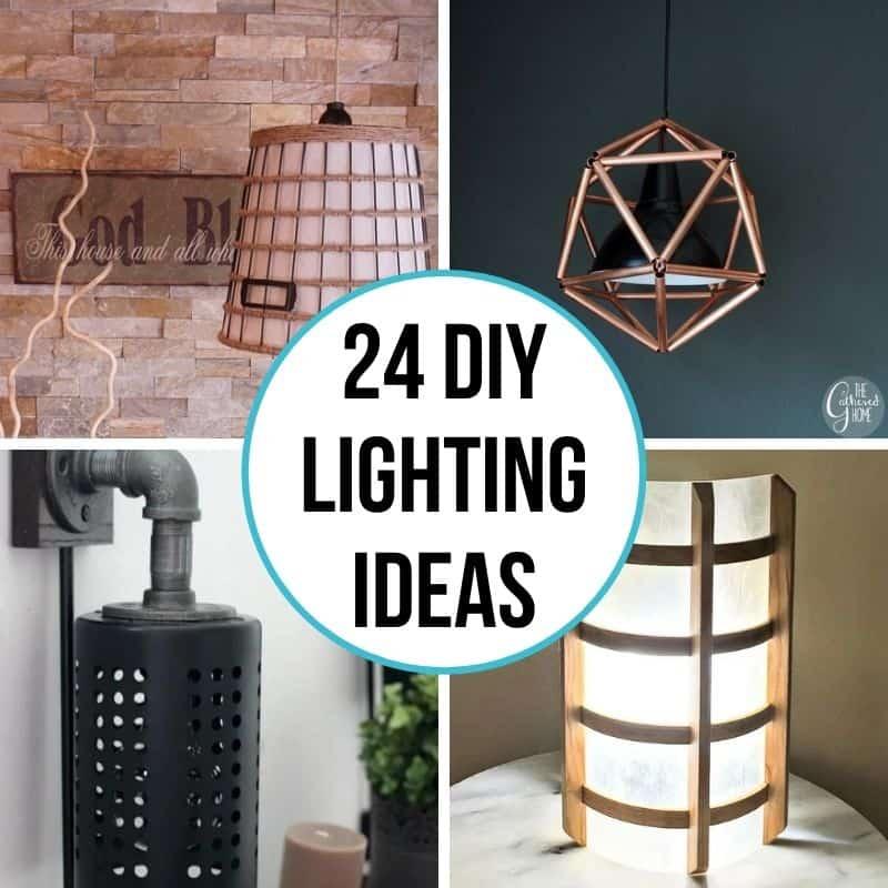 24 diy lighting ideas to brighten your