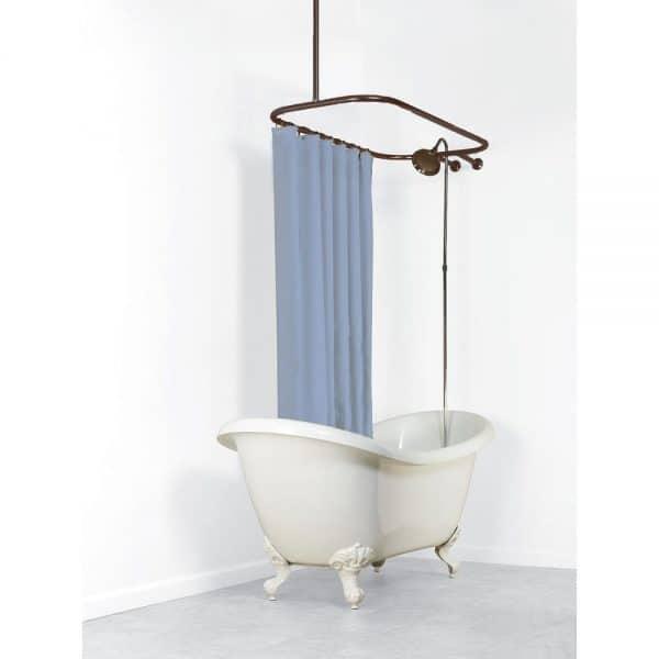 three ways to add a shower to a tub