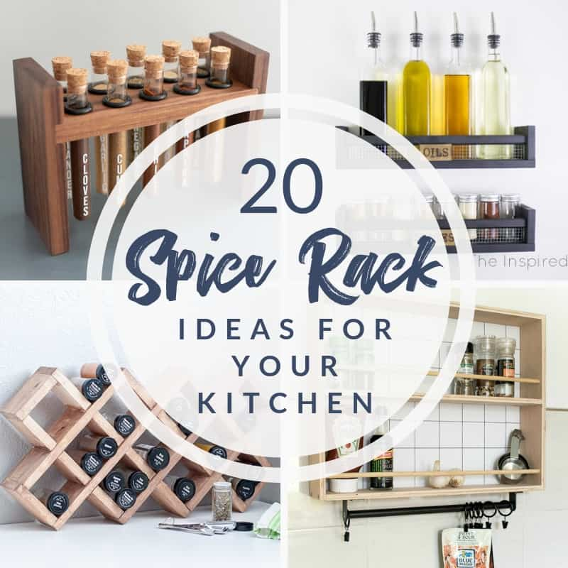 20 genius spice rack ideas for your