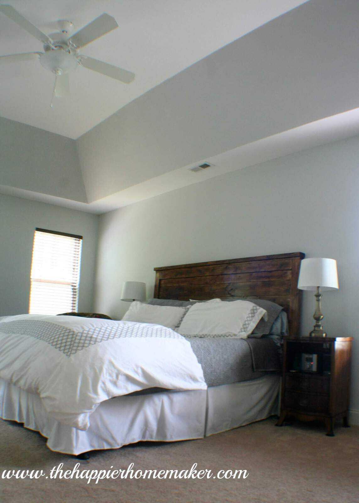 Phase 1 Master Bedroom Makeover The Happier Homemaker