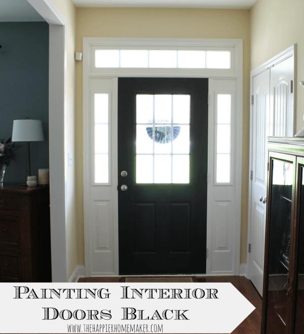 Tips Painting Interior Doors