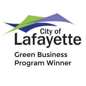 The Happy Beast was the recipient of the 2015 Green Business Program Gold Award from the City of Lafayette, CO.