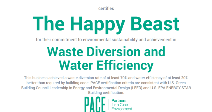 Our Journey Toward Greater Sustainability (Part 2) - PACE Certification