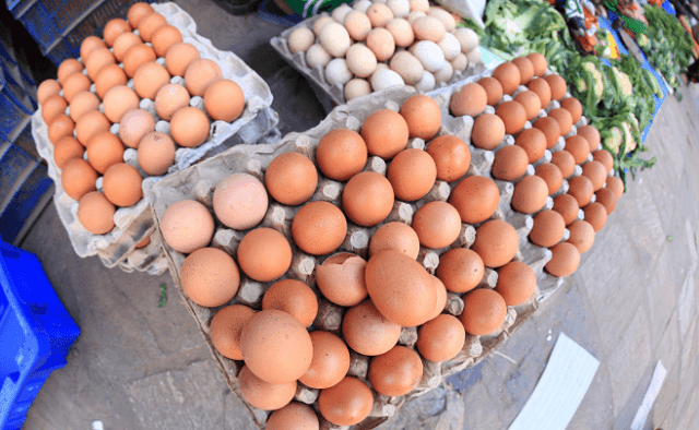 Egg Selling at Markets