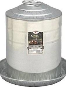 Galvanized Water Feeder