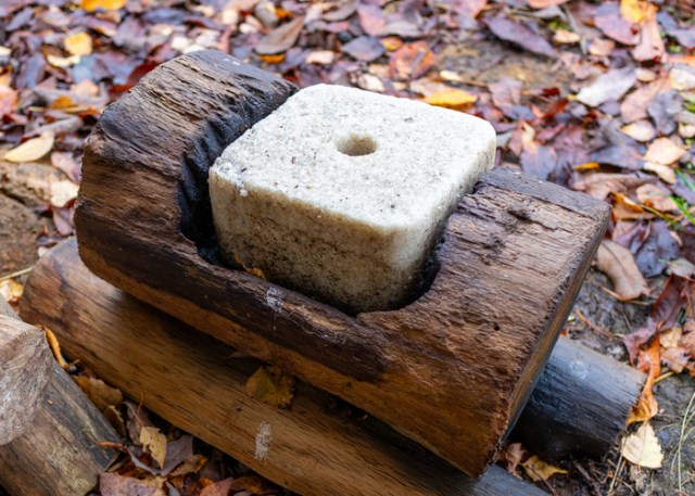 Mineral blocks for goats