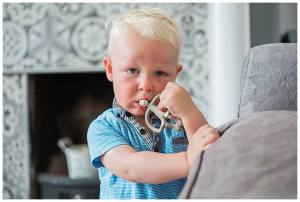 The matchstick monkey being chewed on for the happy weaner 5 top tips for teething list