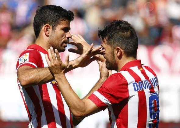 Diego Costa and David Villa-Keeping Atletico Alive