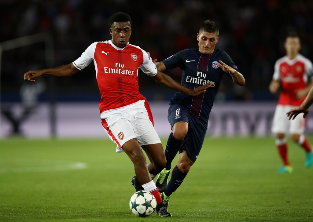 Image result for Arsenal can beat PSG to top Champions League group – Alex Iwobi