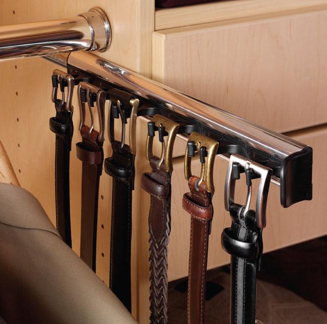 hafele synergy 11 15 16 303mm closet belt rack 5 hooks