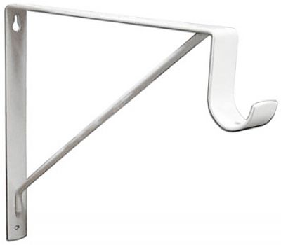 knape and vogt 1195wh 11 279mm heavy duty shelf and closet rod bracket each white the hardware hut