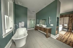 The Indigo Bathroom