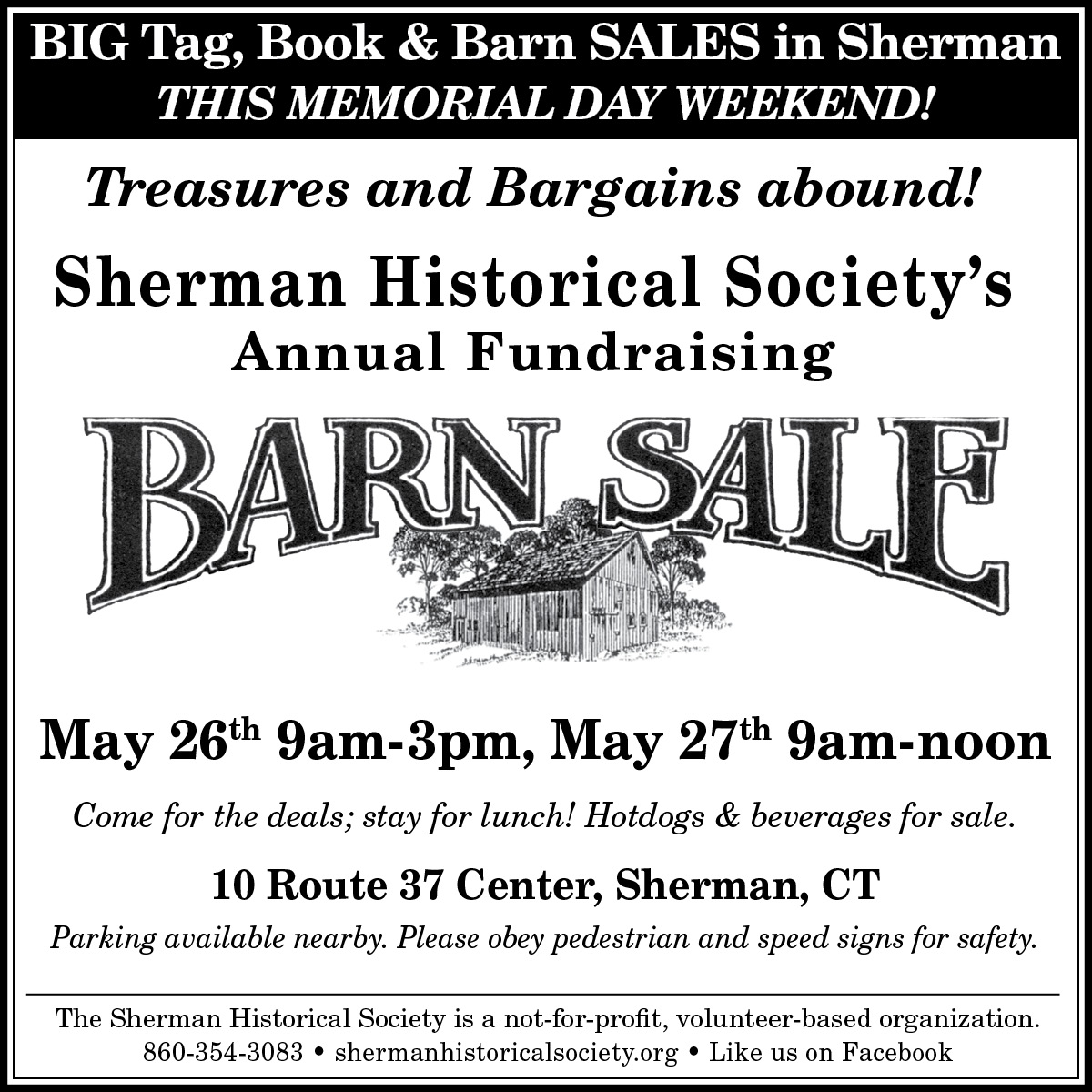 Big Events In Sherman This Weekend The Harlem Valley News