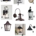 Outdoor Wall Lights Fixer Upper Style The Harper House