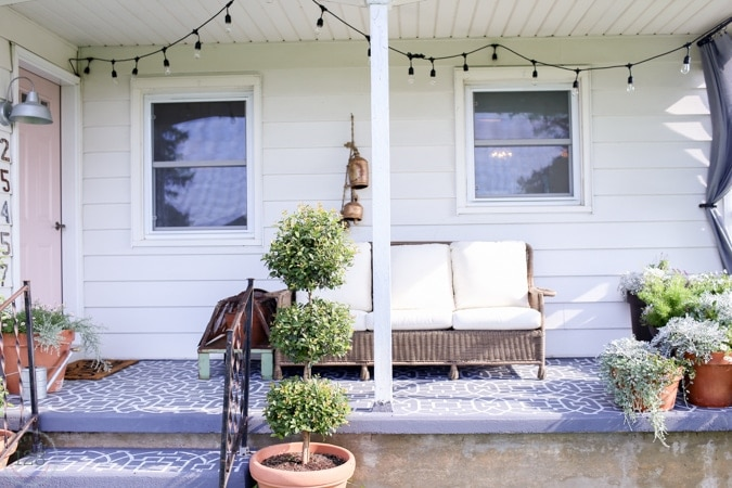 farmhouse style outdoor living the