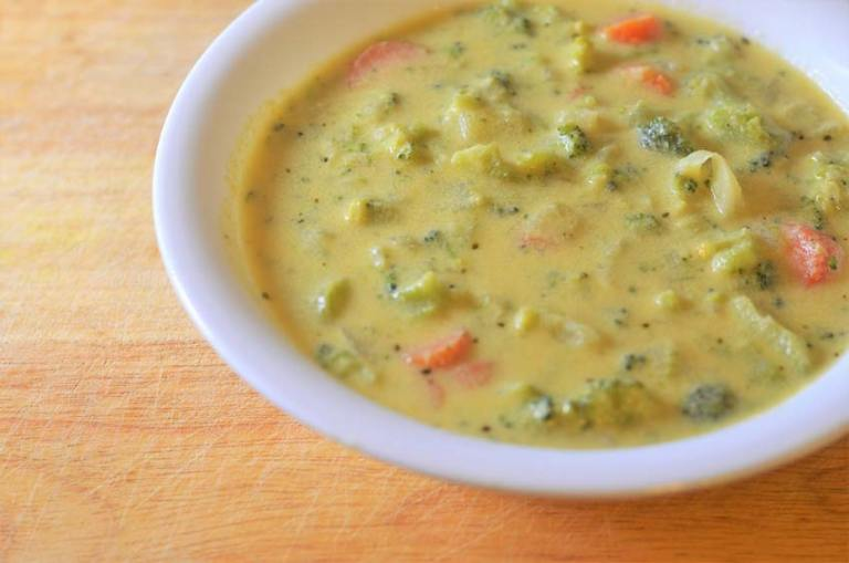 Just like Panera's broccoli cheddar soup but vegetarian, gluten-free and grain-free!