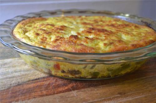 super fluffy vegetable quiche whole 30 vegetarian gluten free grain free