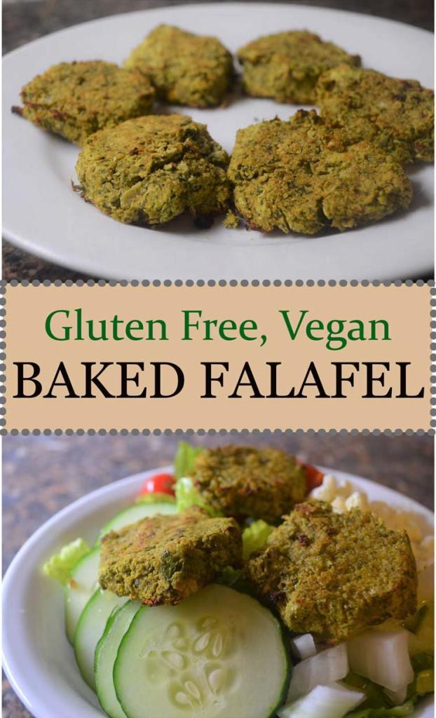 baked healthy falafel gluten free vegan